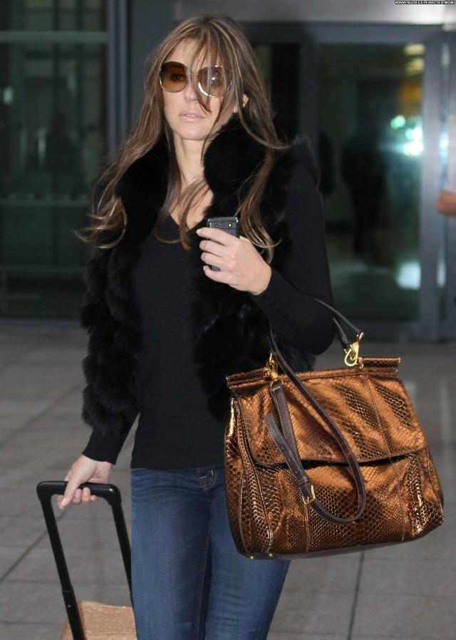 Elizabeth Hurley Lax Airport Posing Hot Beautiful High Resolution Lax