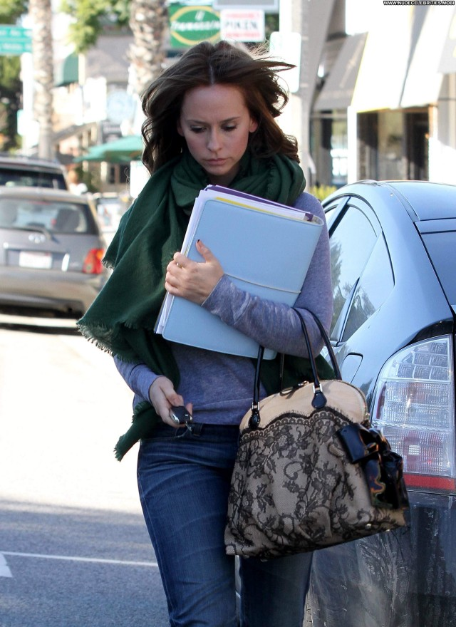 Jennifer Love Hewitt Studio City Beautiful Posing Hot Celebrity High