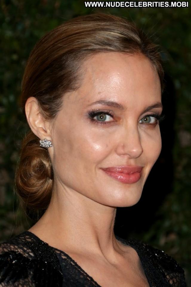 Angelina Jolie No Source Posing Hot Awards Hollywood Babe High