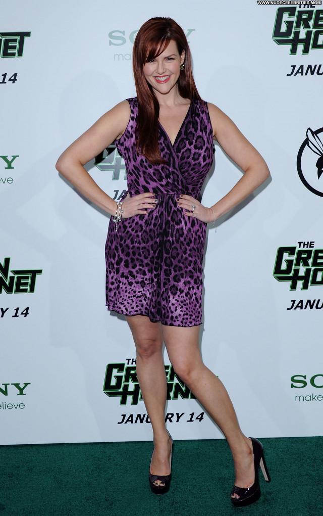 Sara Rue The Green Hornet Posing Hot Celebrity Los Angeles Babe