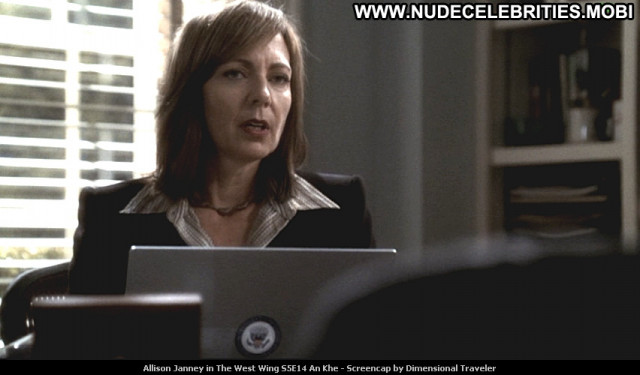 Allison Janney The West Wing Babe Beautiful Tv Series Celebrity