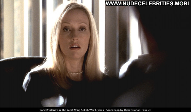 Janel Moloney The West Wing Tv Series Beautiful Posing Hot Babe