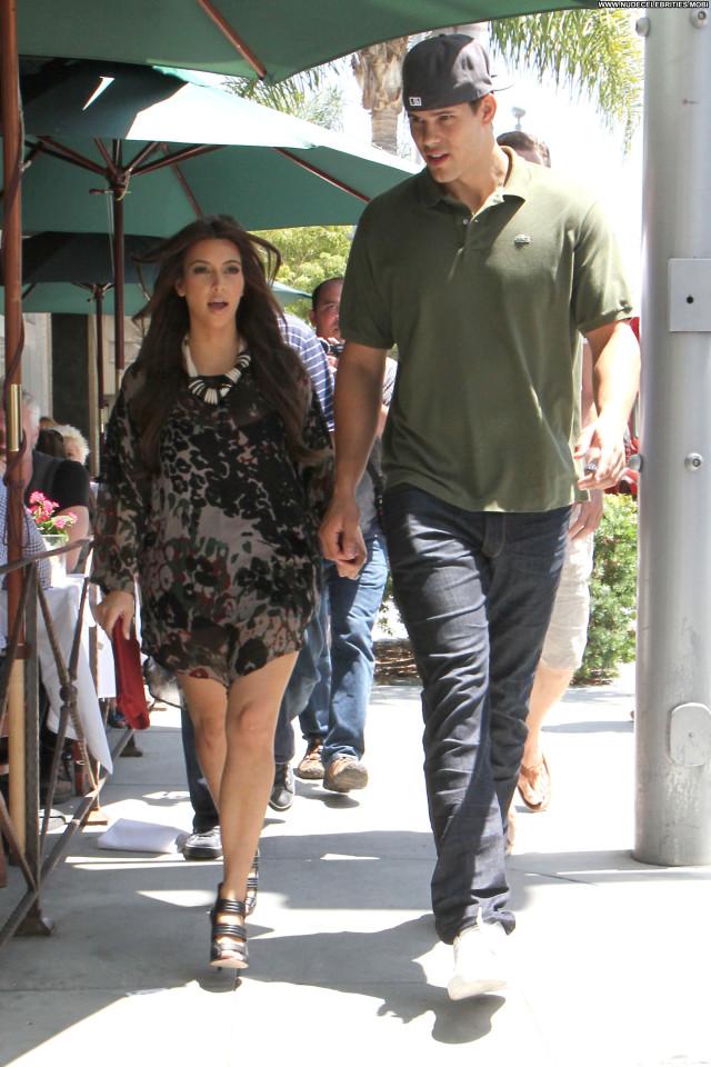 Kim Kardashian Beverly Hills Celebrity Shopping Beautiful Posing Hot