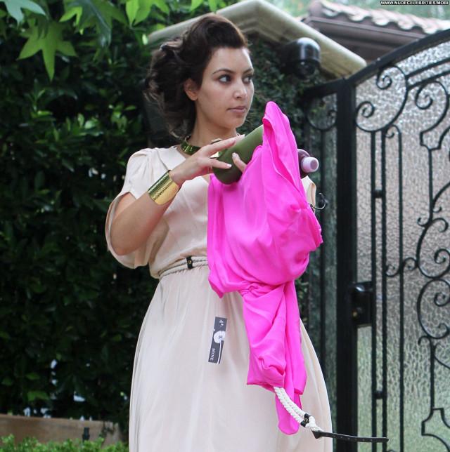 Kim Kardashian Beverly Hills Posing Hot Babe Beautiful High