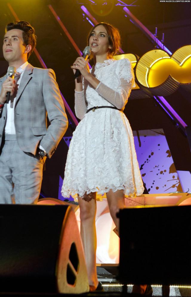 Alexa Chung No Source Celebrity Concert Posing Hot Babe High