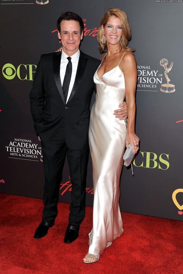 Michelle Stafford Emmy Awards Babe Awards Posing Hot Celebrity High