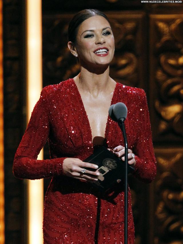 Catherine Zeta Jones No Source Beautiful Awards Celebrity Nyc High