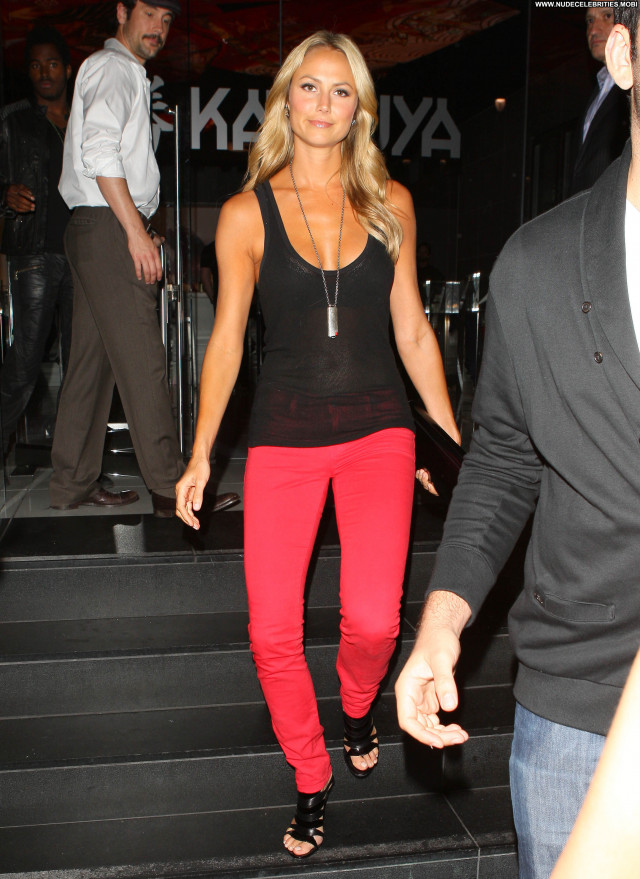 Stacy Keibler Katsuya Restaurant Posing Hot Celebrity Beautiful Babe
