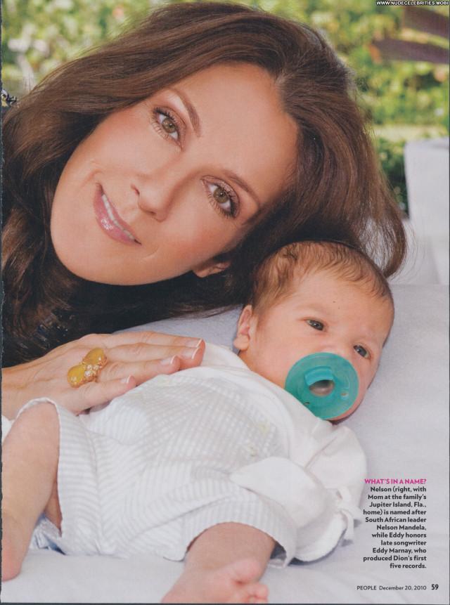 Celine Dion Magazine Posing Hot Babe Celebrity Beautiful Magazine