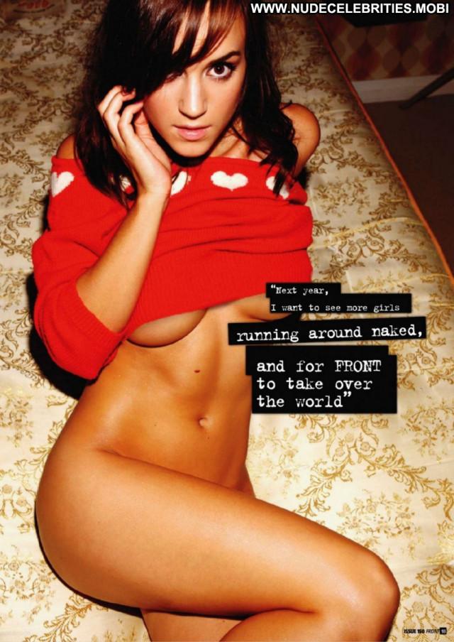 Rosie Jones Front Magazine Big Tits Boobs Big Tits Magazine Posing