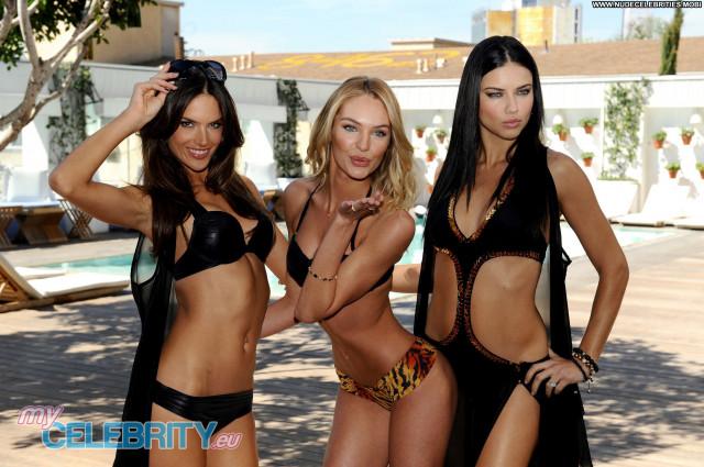Alessandra Ambrosio Victorias Secret Posing Hot Babe Beautiful