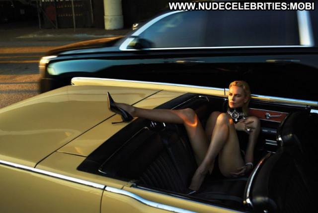 Charlize Theron W Magazine  Usa Babe Beautiful Magazine Celebrity