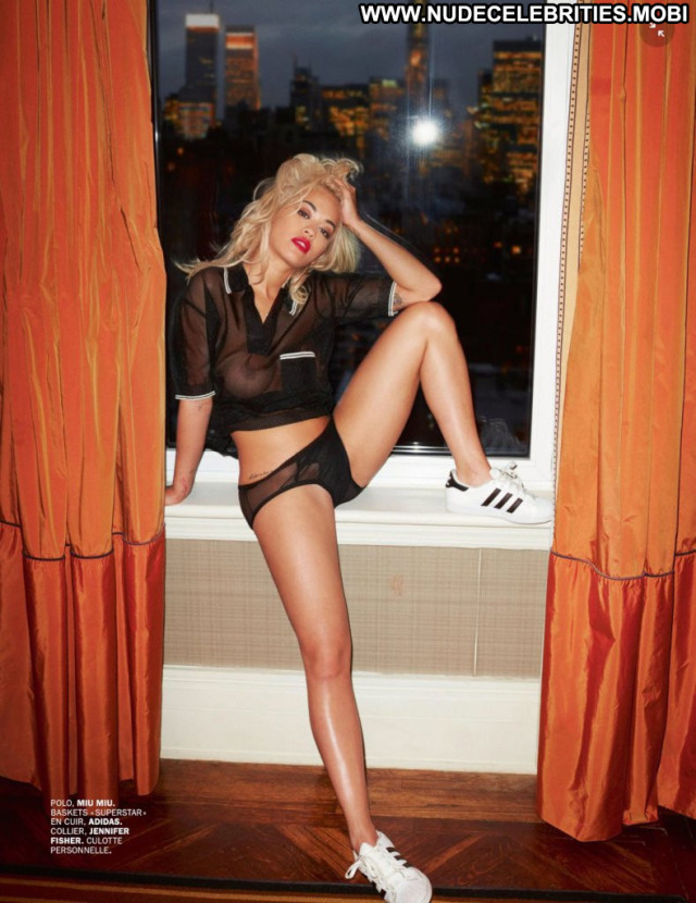 Rita Ora No Source  Topless Beautiful Posing Hot Babe Uk Magazine