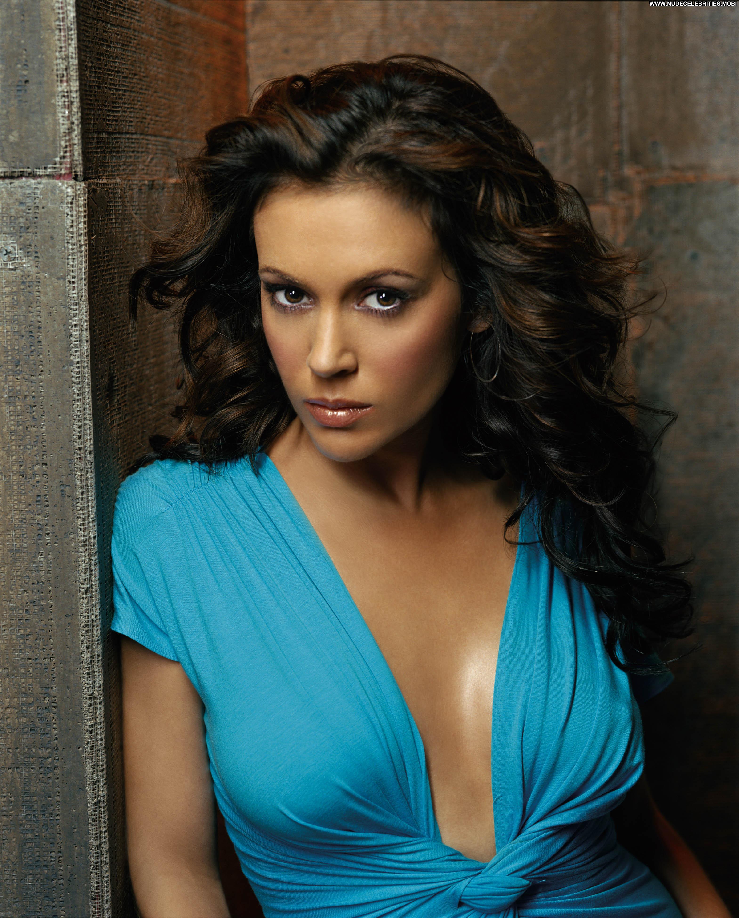 Alyssa Milano No Source Celebrity Beautiful Babe Posing Hot